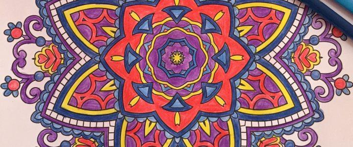 Mandala: Fuego, Tierra, Agua, Viento.